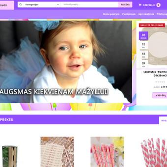 Švenčių atributikos e-parduotuvė. http://www.evavaparty.lt/