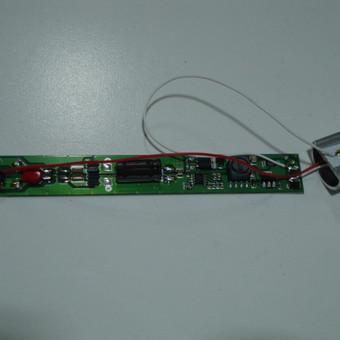 Šviesos diodų lempos maitinimo šaltinis