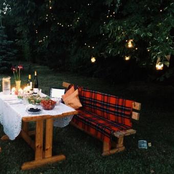 Romantiška vakarienė.
