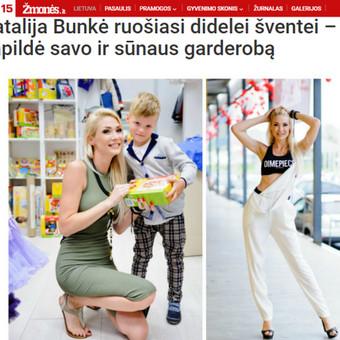 """Mano kurtas tekstas apie dainininkės Natalijos Bunkės apsilankymą prekybos miestelyje """"Urmas"""" - portale Žmonės.lt."""