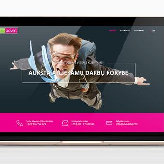 Interneto svetainė reklamos gamybos įmonei. Papildomai integruota kainos skaičiuoklė. Pritaikyta mobiliems įrenginiams (responsive). Esamai informacijai keisti ar talpinti naujai, suprogramuot ...