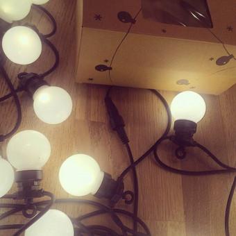 Naujos, stiklinės LED lemputės