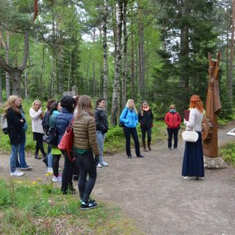 Ekskursija po Baltų mitologinį parką, Kretingos rajone