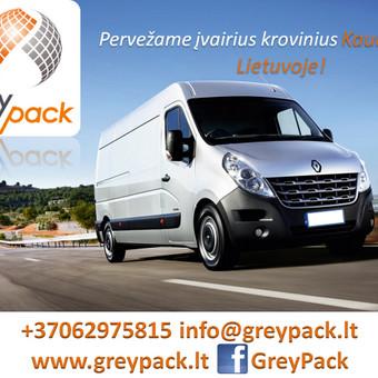 GreyPack - kraustymo ir transporto įmonė / GreyPack / Darbų pavyzdys ID 164137