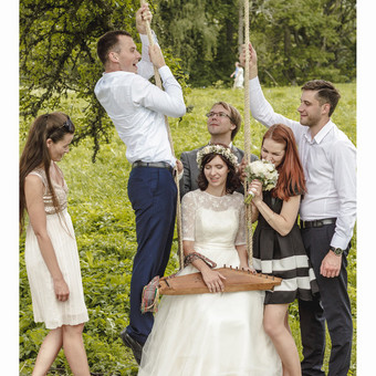 Draugai / Eglė ir Raimondas (vestuvių fotografija)