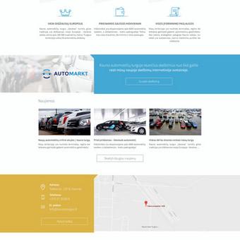 KaunoTurgus.lt - Atnaujintas svetainės dizainas www.kaunoturgus.lt