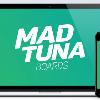 www.madtunaboards.com   Sukurta tinklapis, logotipas, produktai, produktų grafinis dizainas, kita vaizdinė bei spausdintinė medžiaga, brandas. Fotografuojama bei atliekamas foto retušavimas. Tie ...