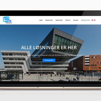 Interneto svetainė Norvegijos įmonei užsiimančiai automatinių durų sistemomis, ventiliacija, sienų sistemomis ir ugniai atspariomis užuolaidomis. Pritaikyta mobiliems įrenginiams (responsiv ...