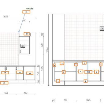 Baldų dizaineris, projektavimas / Baldų projektavimas / Darbų pavyzdys ID 176661