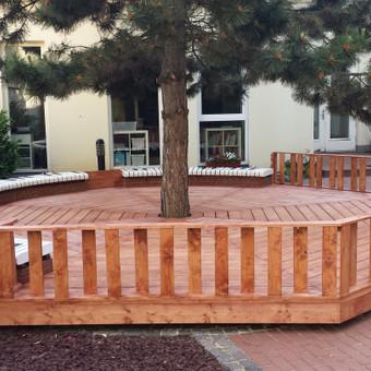 terasa vaikų darželyje Klaipėda, Liepų g.