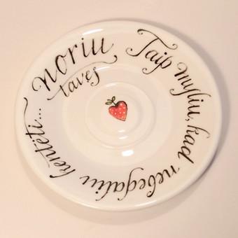 Kaligrafijos meistras / Rolandas Bilinskas / Darbų pavyzdys ID 180977