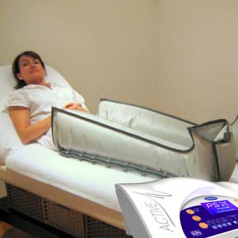 Presoterapija (dar vadinama limfodrenažiniu masažu ar kompresine terapija) – tai procedūra kompresinės terapijos aparatu, kuris sudarydamas vibruojančio slėgio bangas, suaktyvina bendrą limf ...