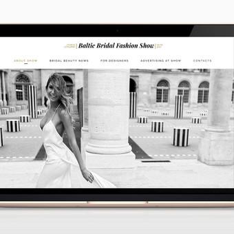 Reprezentacinė interneto svetainė vestuvinėms parodoms adresu: www.balticbridalshow.com