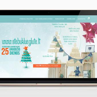 Elektroninė advento kalėdinių eglučių parduotuvė. Integruota Paysera mokėjimų sistema. Pritaikyta mobiliems įrenginiams (responsive). www.stebuklueglute.lt