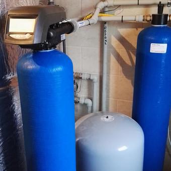 Geležies šalinimo filtras su  kompresoriumi Kupiškio rajone.