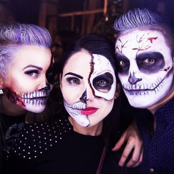 Halloween grimas