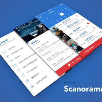 """2016 metų Scanorama festivalio aplikacija  : Europos šalių kino forumas """"Scanorama"""" yra didžiausias ir svarbiausias rudens sezono kino renginys Lietuvoje. https://itunes.apple.com/us/app/sca ..."""