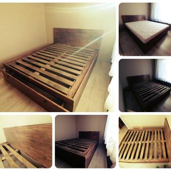 Galime pagaminti įvairiausių tipų lovas. :)