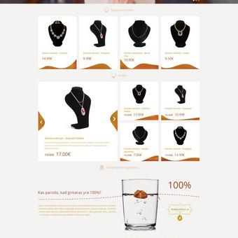 AmberGold - Gintaro dirbinių ir papuošalų internetinė parduotuvė  www.ambergold.lt
