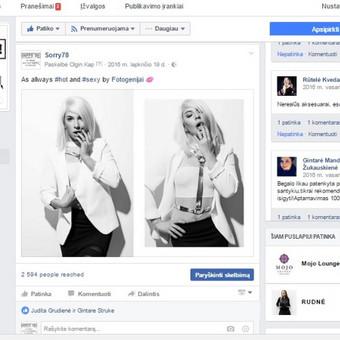 Interneto svetainių administratorius / Olga Kapustina / Darbų pavyzdys ID 216521