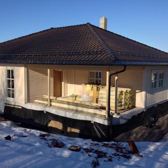 Individualių namų statyba.Karkasinių namų statyba. / Remigijus Valys / Darbų pavyzdys ID 218643