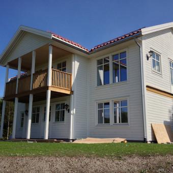 Individualių namų statyba.Karkasinių namų statyba. / Remigijus Valys / Darbų pavyzdys ID 218645
