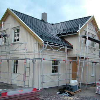 Individualių namų statyba.Karkasinių namų statyba. / Remigijus Valys / Darbų pavyzdys ID 218653