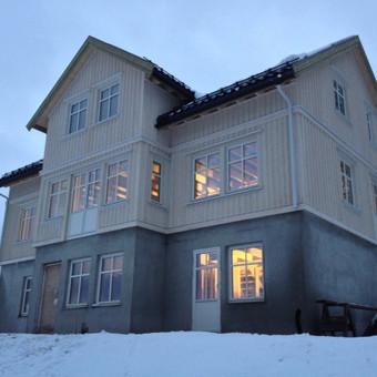 Individualių namų statyba.Karkasinių namų statyba. / Remigijus Valys / Darbų pavyzdys ID 218659