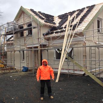 Individualių namų statyba.Karkasinių namų statyba. / Remigijus Valys / Darbų pavyzdys ID 218661