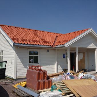 Individualių namų statyba.Karkasinių namų statyba. / Remigijus Valys / Darbų pavyzdys ID 218681