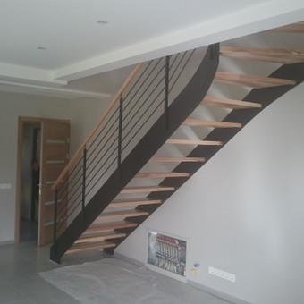 Laiptai, tureklai ir kiti metalo gaminiai. / Andrius Plunge / Darbų pavyzdys ID 220563