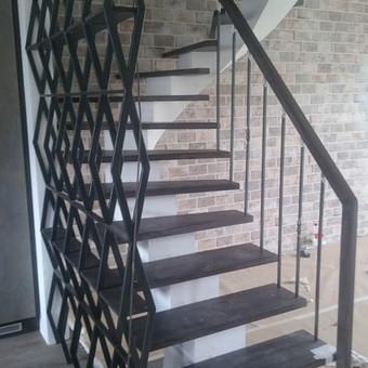 Laiptai, tureklai ir kiti metalo gaminiai. / Andrius Plunge / Darbų pavyzdys ID 220571