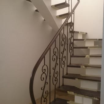 Laiptai, tureklai ir kiti metalo gaminiai. / Andrius Plunge / Darbų pavyzdys ID 220573
