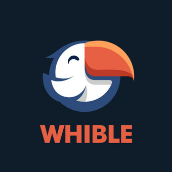 """Whible"" logotipas.