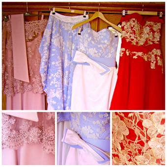Trys suknelės- vienerios vestuvės