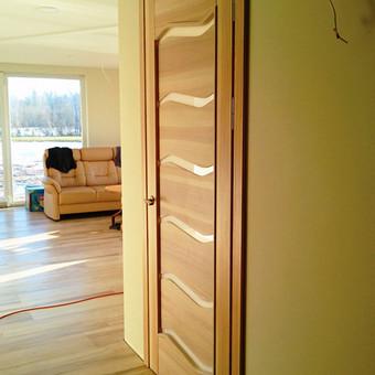 Vidaus durys iš medžio masyvo / Aidas Mazūra / Darbų pavyzdys ID 225935