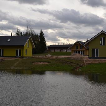 Kaimo turizmo sodybos kurimas Viliucioniu kaime.