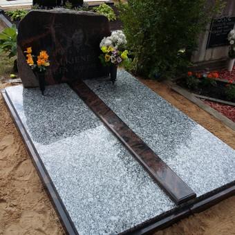 Plokštėmis dengti kapai