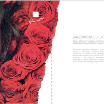 UAB NAUJOSIOS RŪTOS prekės ženklo BOHEMA komunikacijos idėjos SKONIS SU CHARAKTERIU idėjos ir jos įgyvendinimo bendraautorė/tekstų kūrėja. Tekstai produktų katalogui.