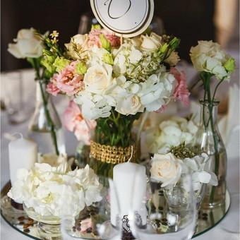 Vestuvinis floristinis dekoravimas / Isdeco / Darbų pavyzdys ID 232003