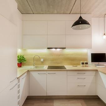 Virtuvės baldai su sala