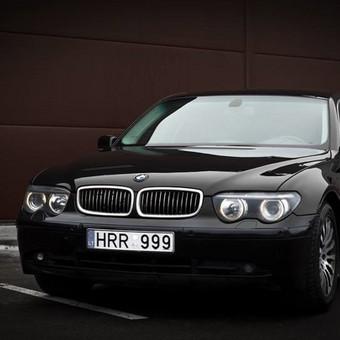 BMW 7, 2004m. jūsų šventei :)