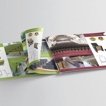 Baldų gamyba. Reprezentacinio produkcijos katalogo sukūrimas. Dizaino koncepcijos sukūrimas, tekstų paruošimas, fotografijų atrinkimas.