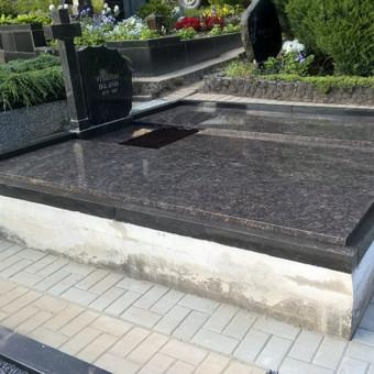Dengimas plokšte ant senų kapavietės pamatų. 865688083