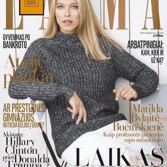 Žurnalo Laima viršelis.