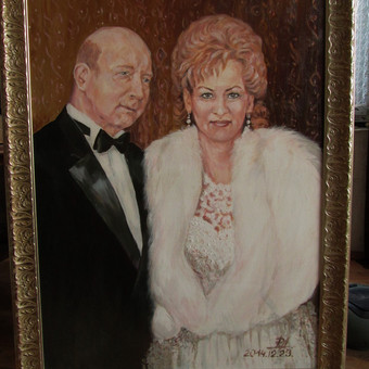 Poros portretas.Drobė.aliejus.
