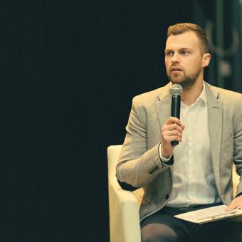Renginių vedėjas Tomas Eigertas