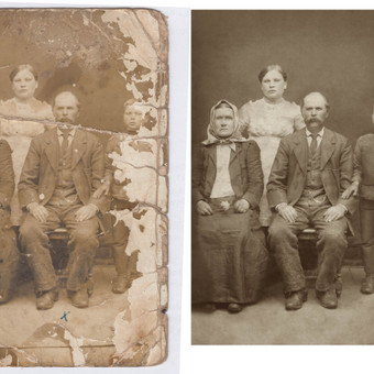 senos nuotraukos atnaujinimas