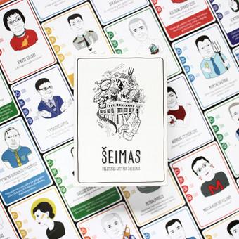 """Iliustracijos kurtos lietuviškam satyros žaidimui """"Šeimas"""". Užduotis buvo sukurti kiekvieną charakterį, pagal duotą aprašymą, išlaikant būdingus realiam žmogui bruožus.  73 personažai/1mėn"""