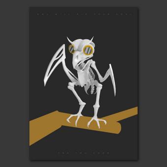 Creature concept design.  Pradėjau gilitni piešimo žinias. Progresą galima sekti -  http://minimalizmas.deviantart.com/gallery/
